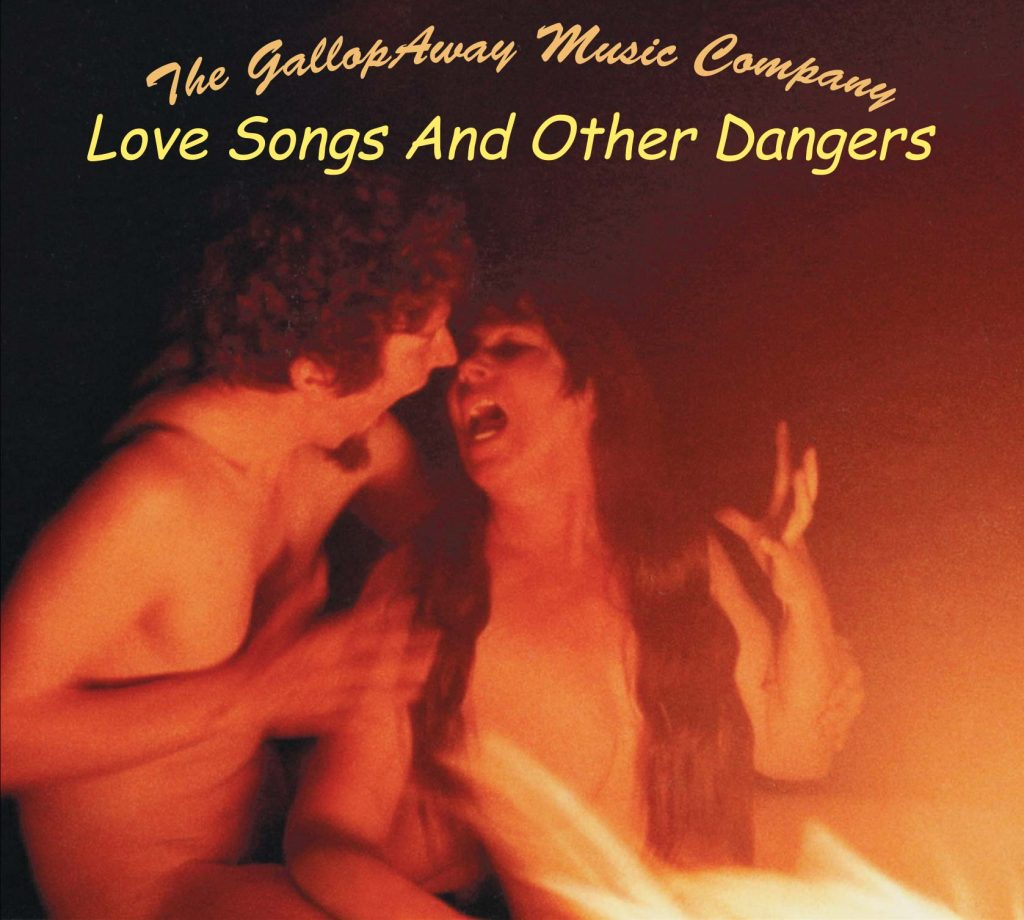Love-Songs-and-Other-Dangers CD package image of Frances and Tim by campfire