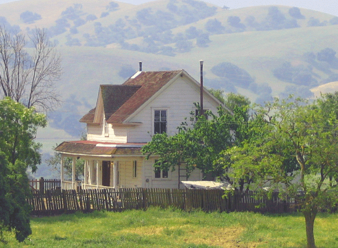 Inviting old farm house in the country